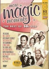 More Magic Moments The Best of 50's Pop DVD Doris Day Jerry Vale Pat Boone