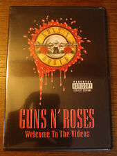 DVD GUNS N' ROSES WELCOME TO THE VIDEOS 61336