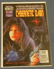 MALIBU COMICS TERMINATOR 2 JUDGEMENT DAY CYBERNETIC DAWN #1 ~ DIRECT EDITION NMT