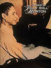 The Best Of Jelly Roll Morton Learn to Play Piano Guitar Music Book
