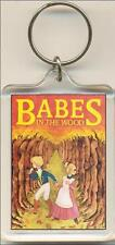 Babes In The Wood. The Pantomime. Keyring / Bag Tag.