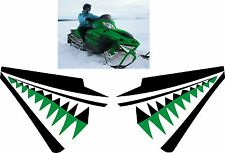 ARCTIC CAT crossfire m6 m8  M F 1000 T660 shark nose cone teeth DECAL STICKER 1
