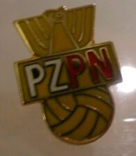 Poland soccer / football pin badge