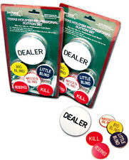 DEALER BUTTON / BIG / LITTLE / MISSED BLIND / KILL PROFESSIONAL SET