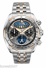 Citizen Men's AV3006-50H The Signature Collection Eco-Drive Moon Phase Flyback