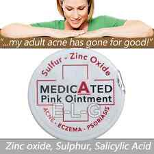 Medicated Pink Ointment - Zinc Oxide & Sulphur - PSORIASIS - ACNE  - ROSACEA