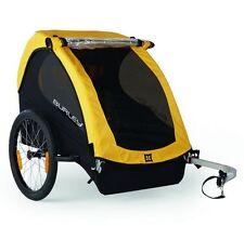 Burley Bee Kinderanhänger Modell 2016 Fahrrad Anhänger 2 Kinder gelb NEU OVP