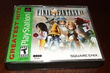 Final Fantasy IX PS1 (Sony PlayStation 1, 2000) **Missing Disc 2**