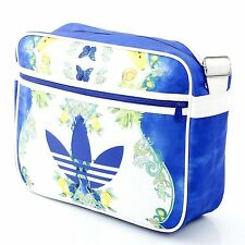 ADIDAS ORIGINALS x FARM AIRLINER BAG M30796 Shoulder Messenger Blue White Floral