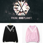 KPOP EXO Plant Sweater Chanyeol Hoodie New Unisex Long Sleeve Baekhyun Sehun