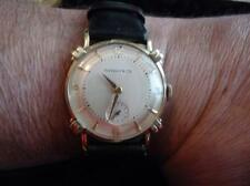 MAN'S TIFFANY & CO SOLID 14K KNOTTED LUGS WATCH IN A TIFFANY & CO BOX Lot 10700