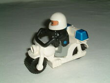 Lego Duplo White Motorcycle with police minifigure - Parts & Pieces