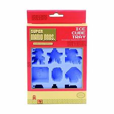 Super Mario Ice Cube Tray Great For Jello, Chocolate, Ice Cubes and More