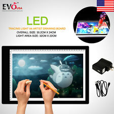 Portable LED Tracing Light Board Artist Tattoo A4 Drawing Pad Table Stencil 2017