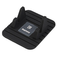 Black Silicon Phone Holder Mount Stand Cradle Non Slip Mat Pad FOR Remax OE