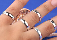 Men and women 10pcs S80 silver variety of wholesale Ring 6-8 F11