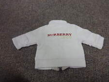 BURBERRY 3M 3 MONTHS EMBROIDERED JACKET SHIRT