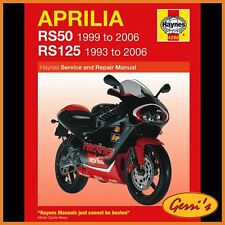 4298 Haynes Aprilia RS50 1999 - 2006 Workshop Manual