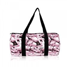 Pink & Black Ballet Shoe Duffel Dance Bag