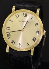 Audemars Piguet vintage 18K gold mechanical men's dinner watch