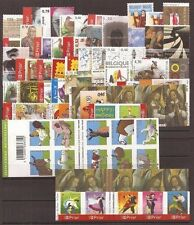 Belgium**Stamps from 2006-Dances-Angels-Birds-Flowers-Red Cross-Animals-King-MNH