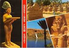 BT11917 King akhanton cairo egyptian museum karnak sphinx avenue       Egypt