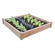 Spear and Jackson Timber Raised Vegetable Bed Planter  - 125 cm x 18.5 cm