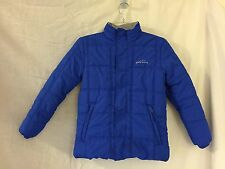 Eddie Bauer Kids Youth Insulated Quilted Puffer Blue Jacket Sz Small