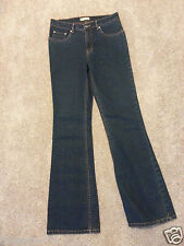 NWOT Herbench DNMJNS Bootcut Zip Fly Blue Jeans Womens 28 Stretch