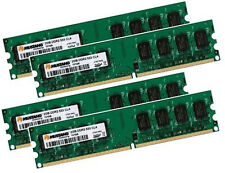 4x 2gb 8gb Samsung RAM PC-memoria ddr2 667 MHz 240 pin DIMM pc2-5300u cl5
