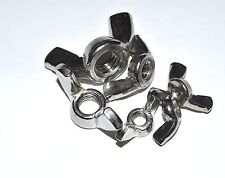 METRIC STAINLESS WING NUT M6 PACKAGE OF 5 WING NUTS
