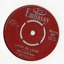"""Rikki Henderson - Loop De Loop 7"""" Single 1963"""
