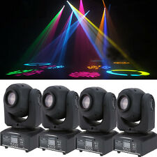 4-Pack 60W RGBW Beam LED Moving Head Stage Lighting DMX-512 DJ Disco Party Light