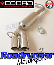 Cobra Sport BMW 320d E90 Exhaust Rear Silencer Stainless Back Box Saloon BM66