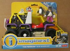 IMAGINEXT GOTHAM CITY DC Super Friends THE PENGUIN & 6-WHEELER ~ Fisher-Price