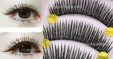 Makeup Handmade Natural Thick False Eyelashes Long Eye Lashes Extension 10 Pairs