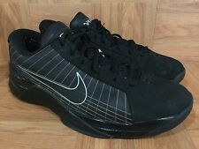 RARE�� Nike Hyperdunk Low PE Black Silver Basketball Shoes Sz 11.5 386424-001 LE