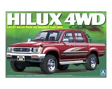 AOSHIMA 1/24 Toyota Hilux pick up double cab 4WD LN107 scale model kit