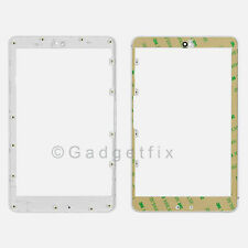 OEM Asus Google Nexus 7 Front Frame Bezel Faceplate Housing White + Adhesive US