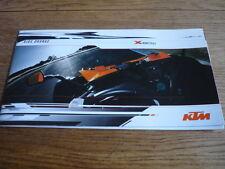 KTM X Arco de conducción, la batalla, folleto de la serie de carreras