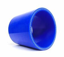 "2.5"" (63MM ID) STRAIGHT SILICONE HOSE COUPLER 70MM LONG Intercooler Induction"