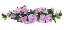 LAVENDER LILAC SWAG ~ Silk Wedding Flowers Arch Decor Gazebo Centerpiece Bridal