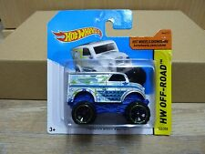 Hot Wheels 2014 Monster Dairy Delivery  HW Off-Road #122/250  Silber
