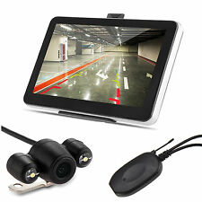 "5"" Inch 4GB TF LCD Touch Screen Car GPS Navigation Navigator W/Backup Camera"