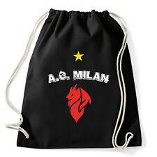 Art T-shirt, Zaino Milan Evil, Nero, Sacca Gym