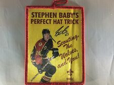 Northwest Suburban Council Stephen Baby's Perfect Hat Trick patch Chicago Wolves