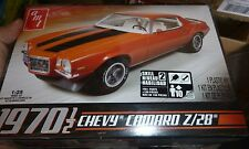 AMT 1970 1/2 CHEVY CAMARO Z/28 ORANGE 1/25 MODEL CAR MOUNTAIN FS