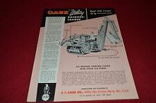 Case Tractor 310C Crawler Backhoe Loader Dealer's Brochure YABE6