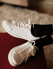 M&S ARCHIVE BY ALEXA CHUNG Yes / No White Leather Trainers UK3 5 6