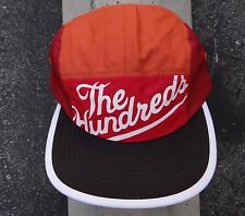 New The Hundreds Orange Strap Snapback 5 Panels Camping Hat Cap HTHD-50